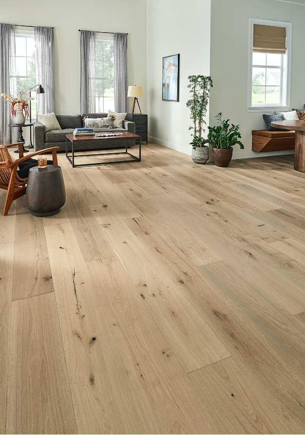 White Oak Hardwood Floor Example